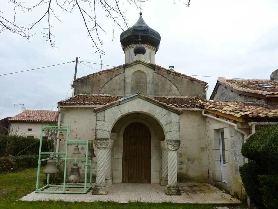 Eglise orthodoxe de Puyloubard.