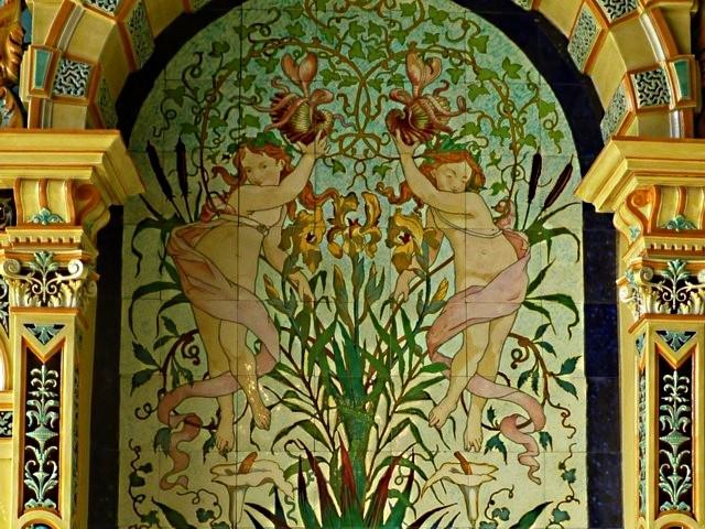 Le Jardin d'Hiver Musée de la faïence de Sarreguemines 11