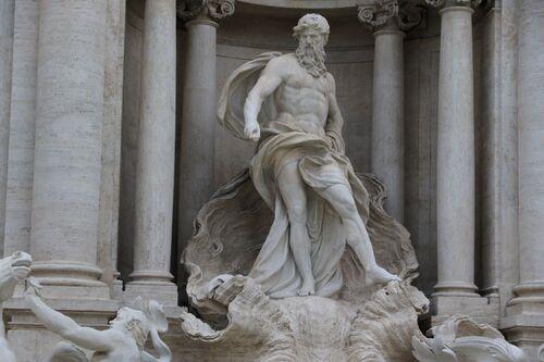 La foule romaine