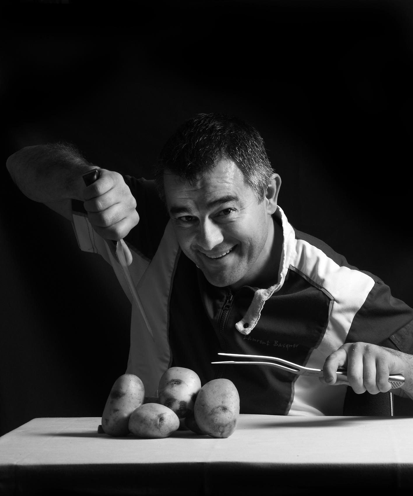 Quatre recettes de Laurent Bacquer dans Cuisine Recettes du marché