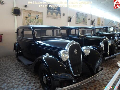 MUSÉE DE L'AUTOMOBILE DE VENDÉE 4/6 ST HILAIRE TALMONT VAC 09/10.2013   31/01/2014