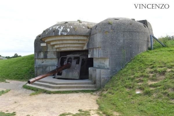 Normandie plages du débarquement batterie allemandes