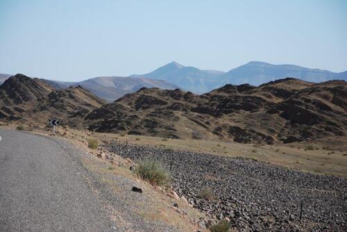 Des paysages désertiques