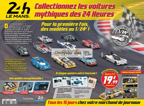 N° 1 Collection 24H Le Mans - Test