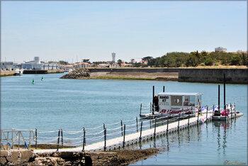 Saint-Gilles-Croix-de-Vie au bord de l'eau