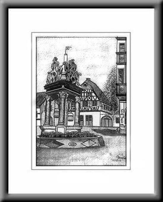 Paysage d'Alsace