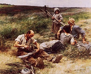Léon Augustin Lhermitte, The Haymakers