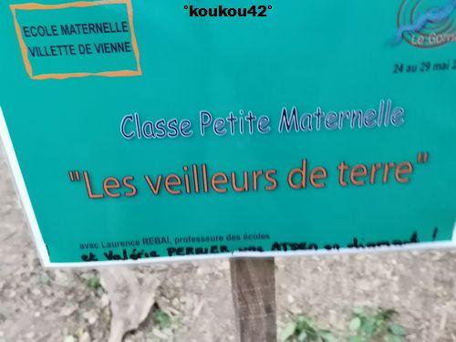 "Seyssuel. Le sentier ""Art-Nature"" 2021 (2)."