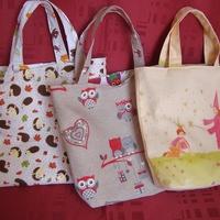 3 sacs fillettes