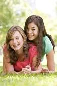 frere et soeur : Portrait d'adolescentes