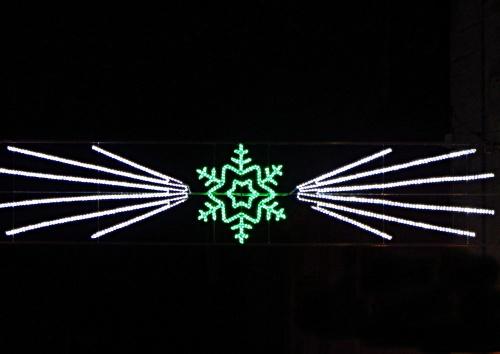 Châtillon sur Seine illuminée pour les Fêtes 2012