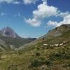 Descente vers la cabane Dous Bouès de Peyrelue