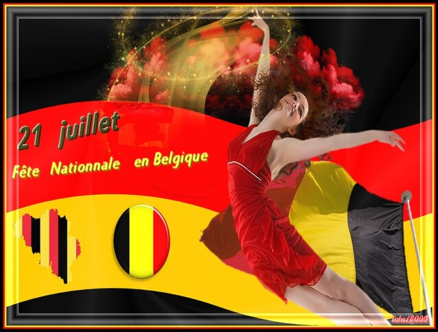 fete     nationnale   belge