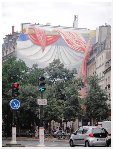 Mur peint. Paris