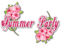 Tutoriel Scrap de LiliGraph - Summer Party