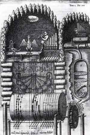 Athanasius Kircher : sysytèle hydraulique