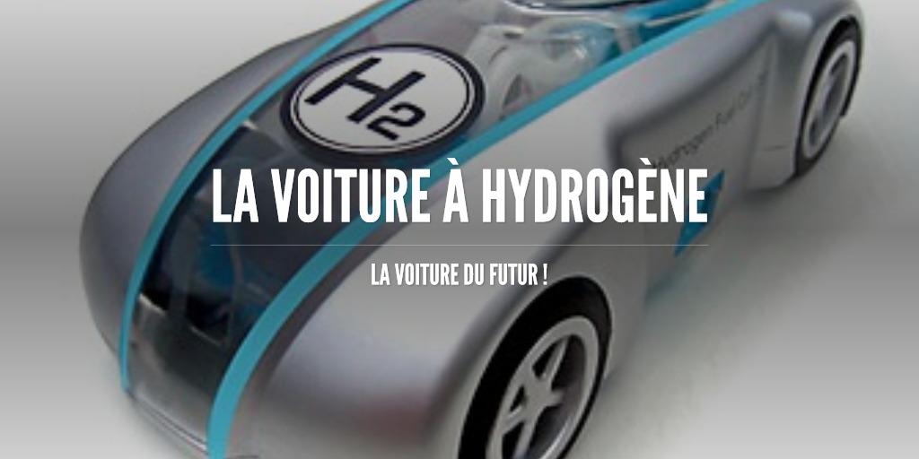 La voiture à Hydrogène