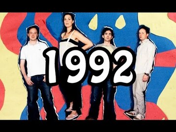 Live : Stereolab - Groovy Times Merchtem Blegique - 5 Septembre 1992