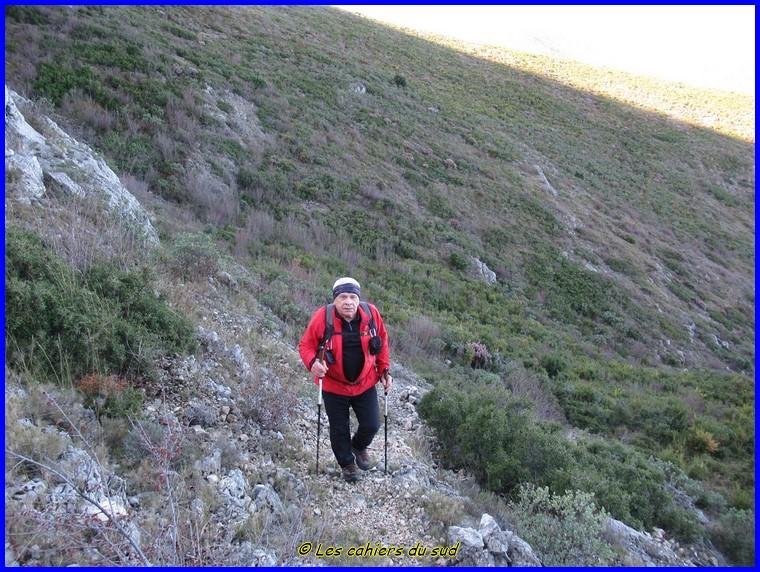 Le trio, Mt Lantin, Mt Carpiagne, Mt Saint-Cyr