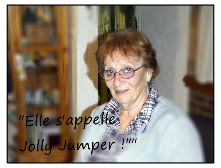 Jolly Jumper, le cheval qui court plus vite que son ombre.