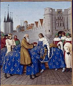 Charles V le Sage et l'empereur Charles IV