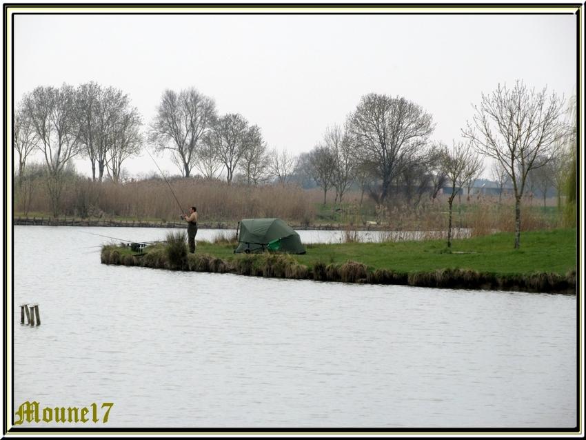 Le lac et le port de Saujon(17)