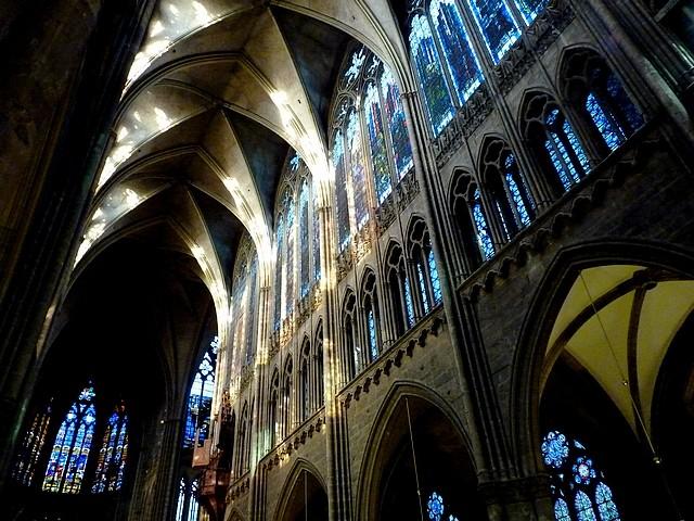La nuit des cathédrales à Metz 1 Marc de Metz 2012