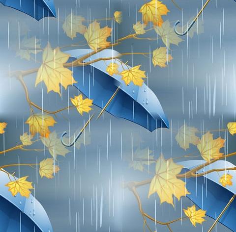 Textures automne sans démarcation
