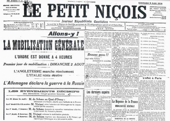 1er août 1914