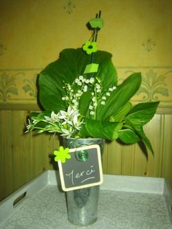 bouquet merci pour l'invitation !