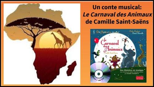 Histoire de l'Art/Ecoute musicale: LE CARNAVAL DES ANIMAUX