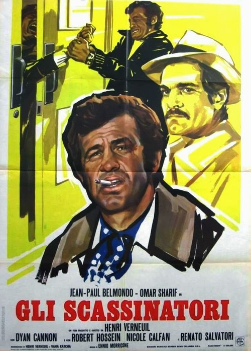 LE CASSE - JEAN PAUL BELMONDO BOX OFFICE 1971