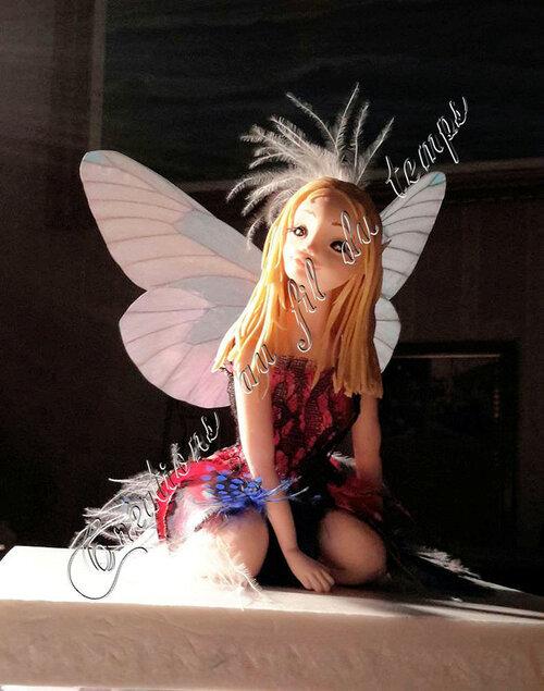 La fée papillon des sous-bois