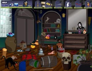 Hidden objects - Halloween