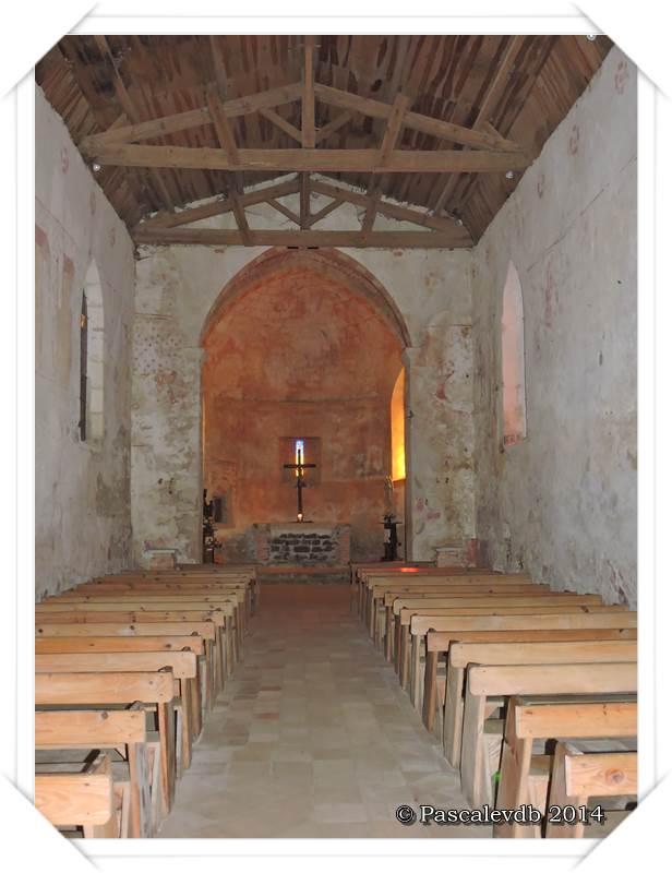 Église du vieux Lugo et rive de la Leyre 1/6