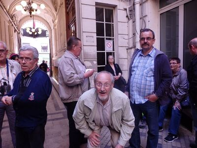 31 mai 2014 - Visite des passages couverts à Paris