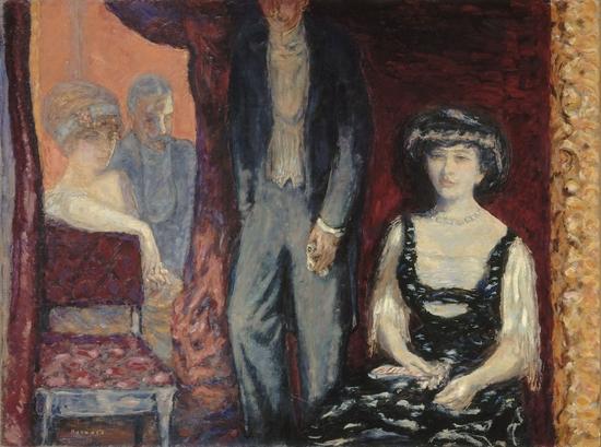 Pierre Bonnard, La loge