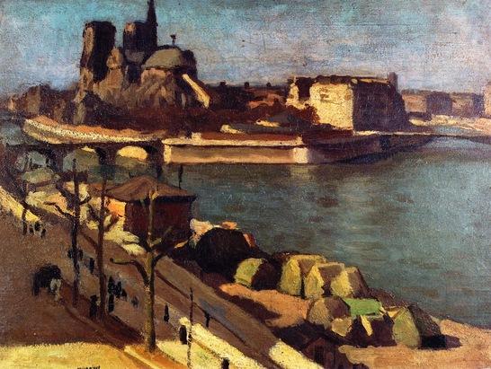 """Le"""" Paris"""" d'Albert Marquet"""
