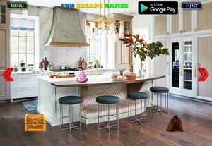 Jouer à Modern kitchen room escape