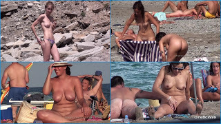 Nude Euro Beaches 2018. Part 32.