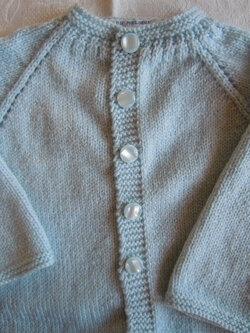 Cardigan tricot PETIT FAUNE