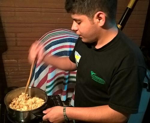 le revuelto et le cocido quemado d'Evan (Paraguay)