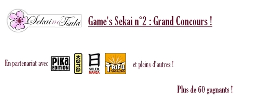 Game's Sekai n°2 - Grand Concours (Facebook)