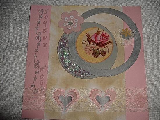 carte noel rose et grise 3