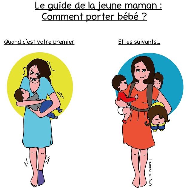 Le guide de la jeune maman : comment porter bébé ?