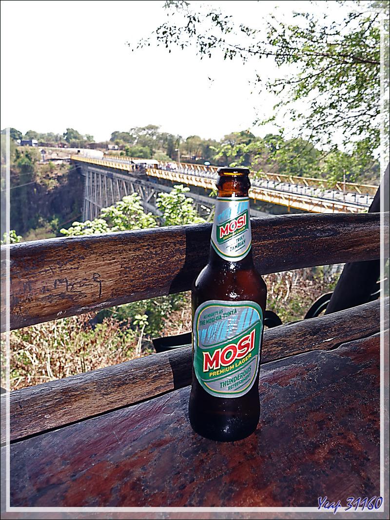 Pont des Chutes Victoria vu de Zambie