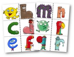 Alphabet évolutif à afficher