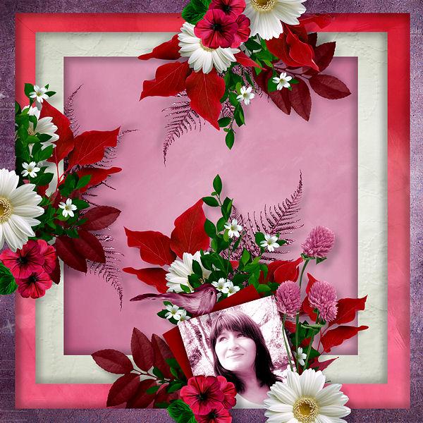 """""""Flowers Passion"""" par Scrap'Angie"""