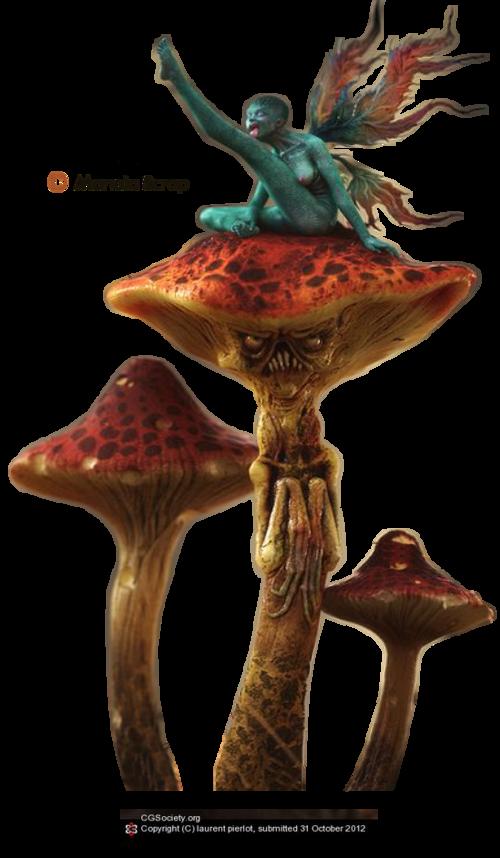 tubes fantaisie page 13  les champignons