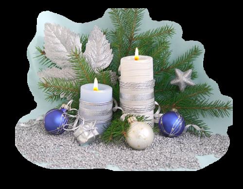 Bougies Noël 1